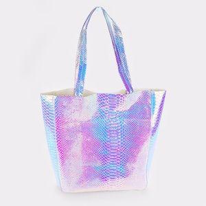 A Mermaid's Epiphany Bags - 🆕LAST ONE Mermaid Hologram Tote Bag